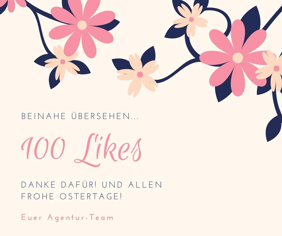 und danke für 100 Likes