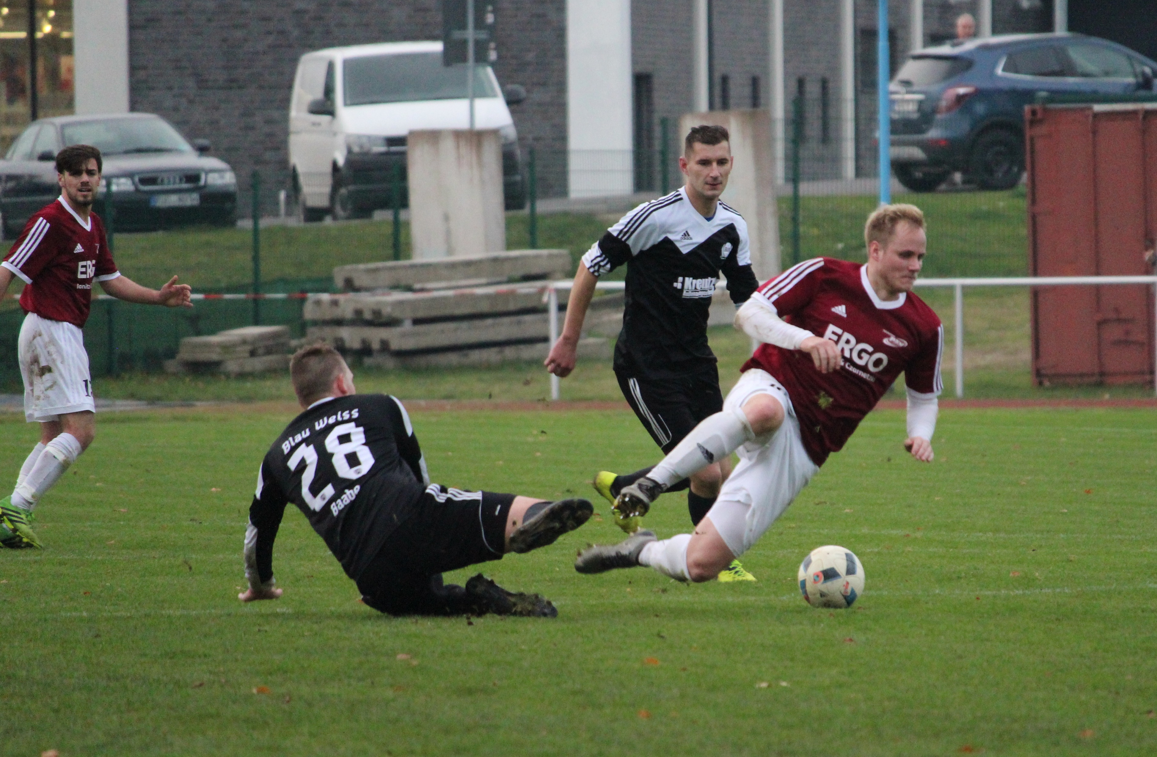 Baabe kassierte beim PSV Rostock eine 1:4-Pleite
