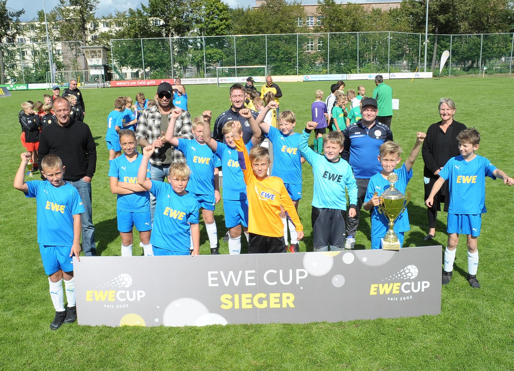 Baaber D-Junioren gewinnen EWE-Cup