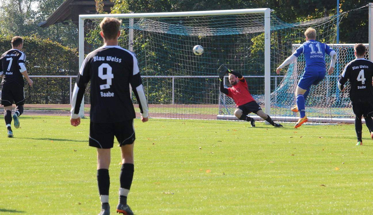 Nico Offermann hat beim 0:1 keine Chance