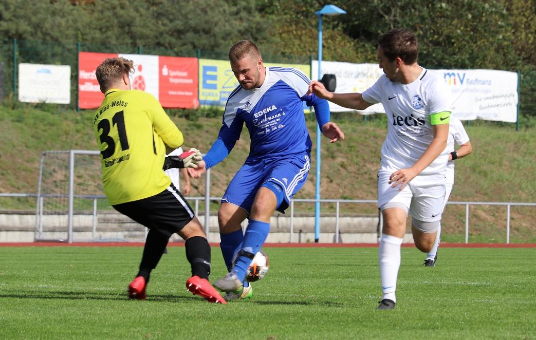 Florian Fründt erzielte Baabes 1:0