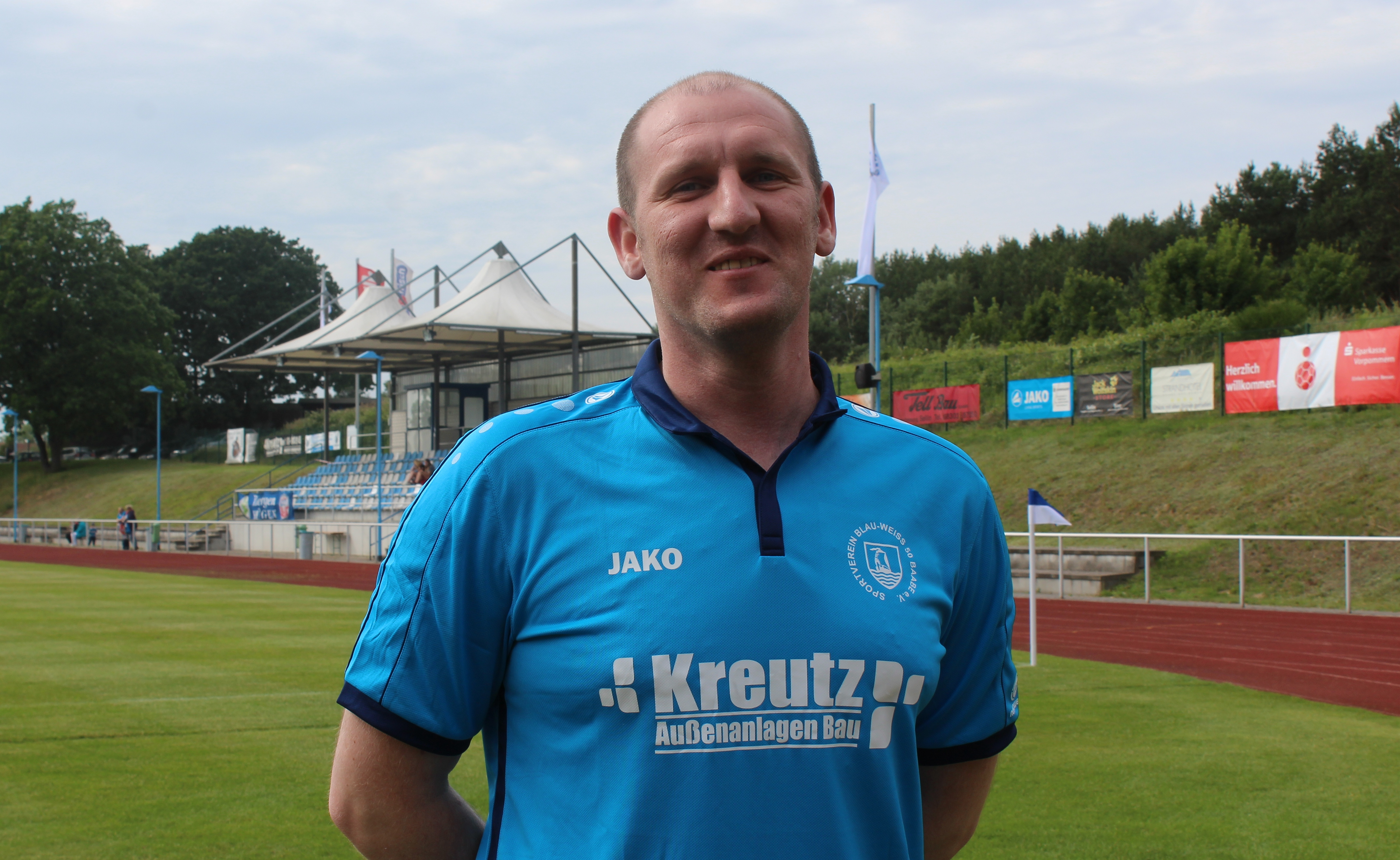 Baabes Trainer Ronny Rüting