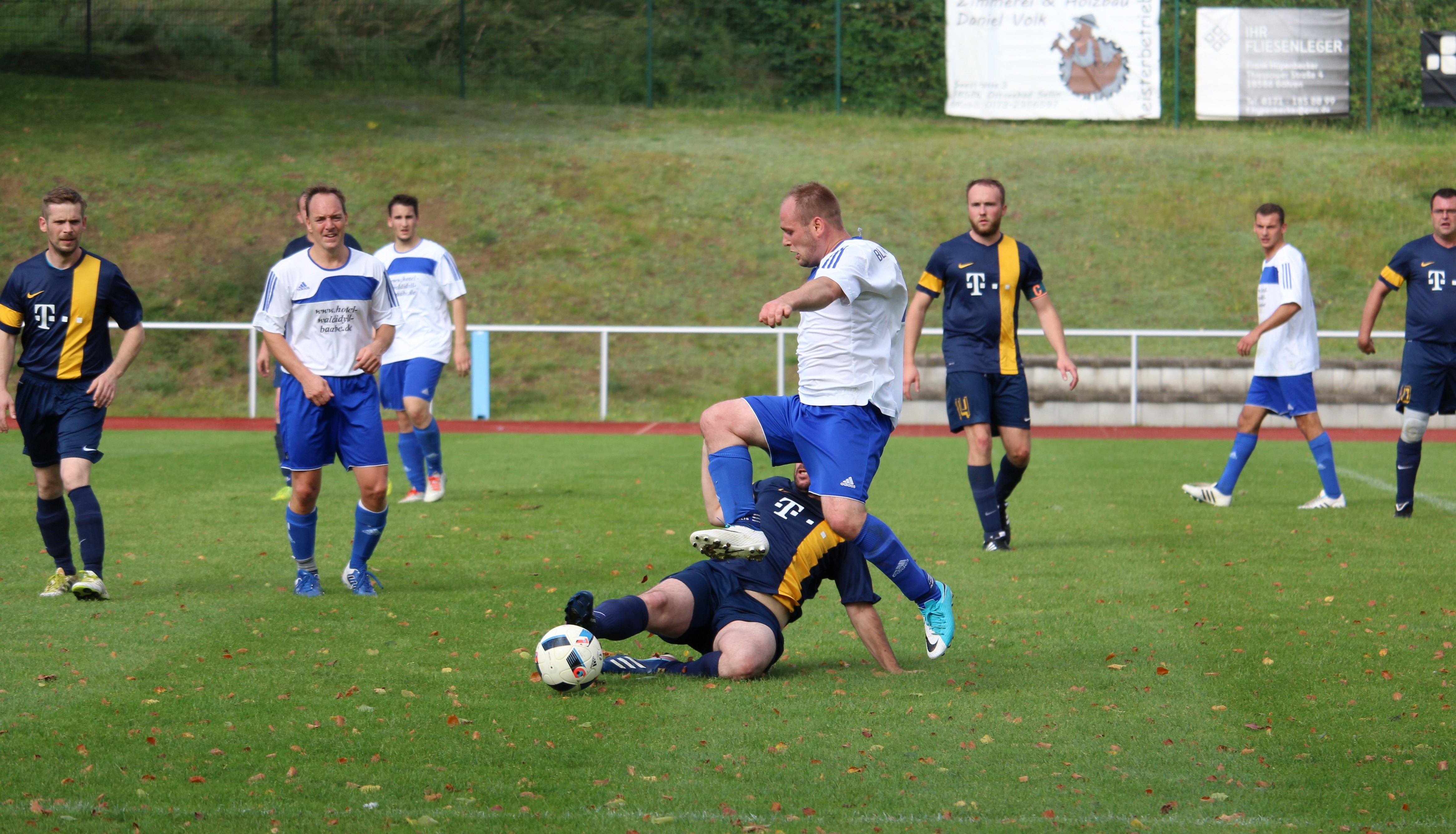 Stephan Lemke erzielte die Baaber 1:0-Führung