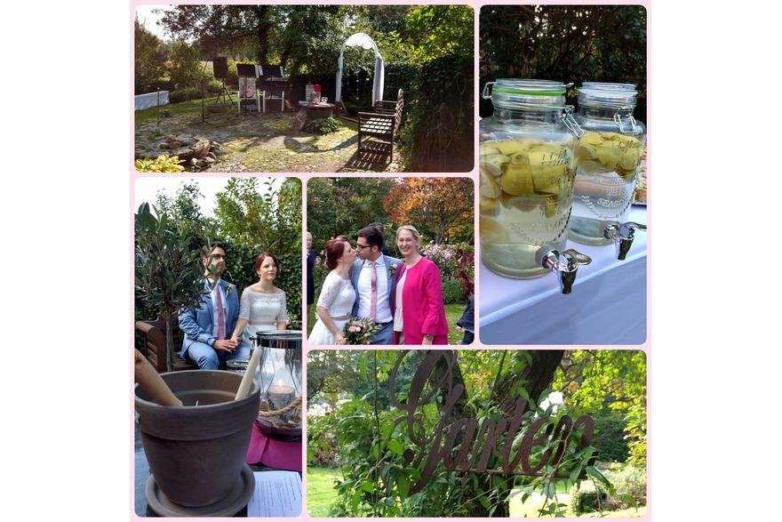 Freie Trauungen in einem zauberhaften Garten