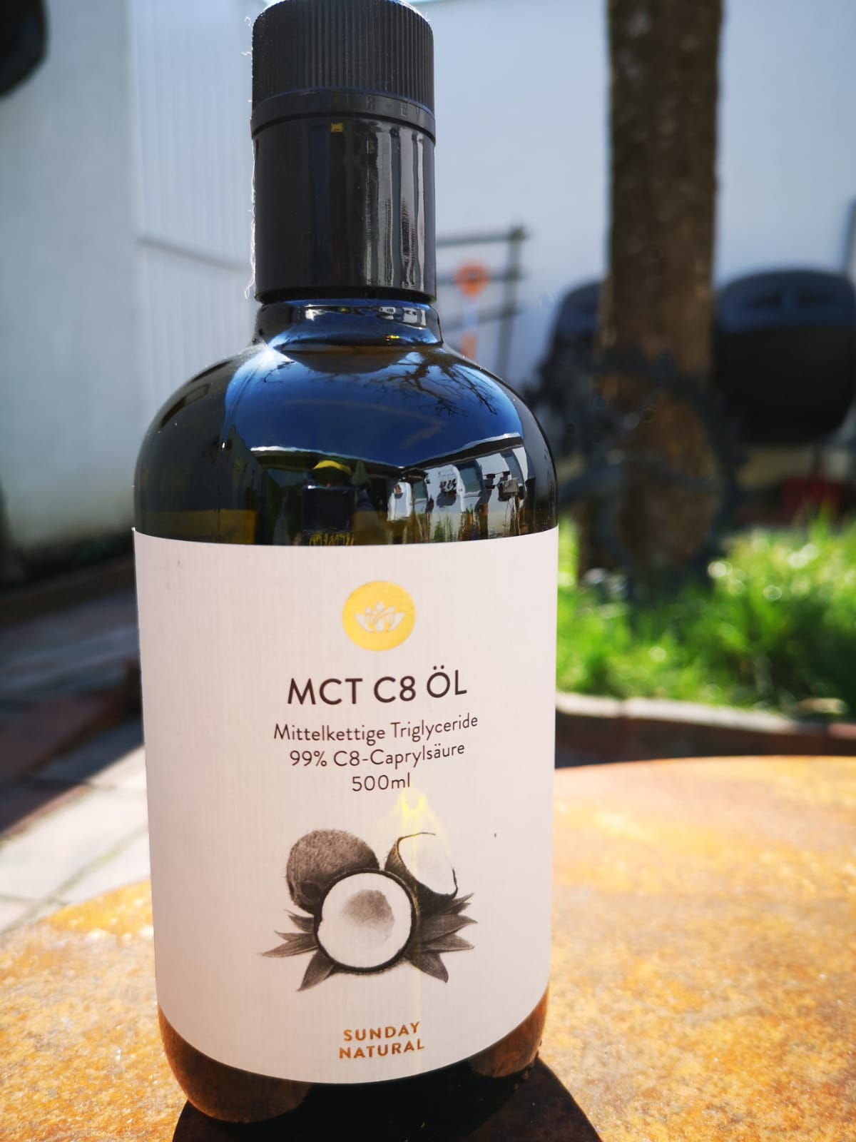 MCT-Öl, teil-bio-zertifiziert