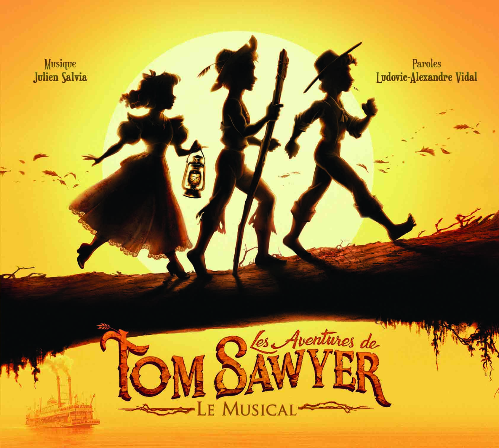 "Album CD ""Les aventures de Tom Sawyer"""