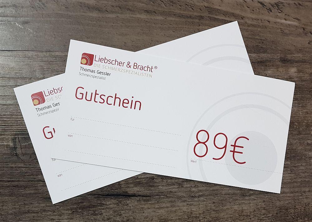 Liebscher&Bracht Therapie Gutschein