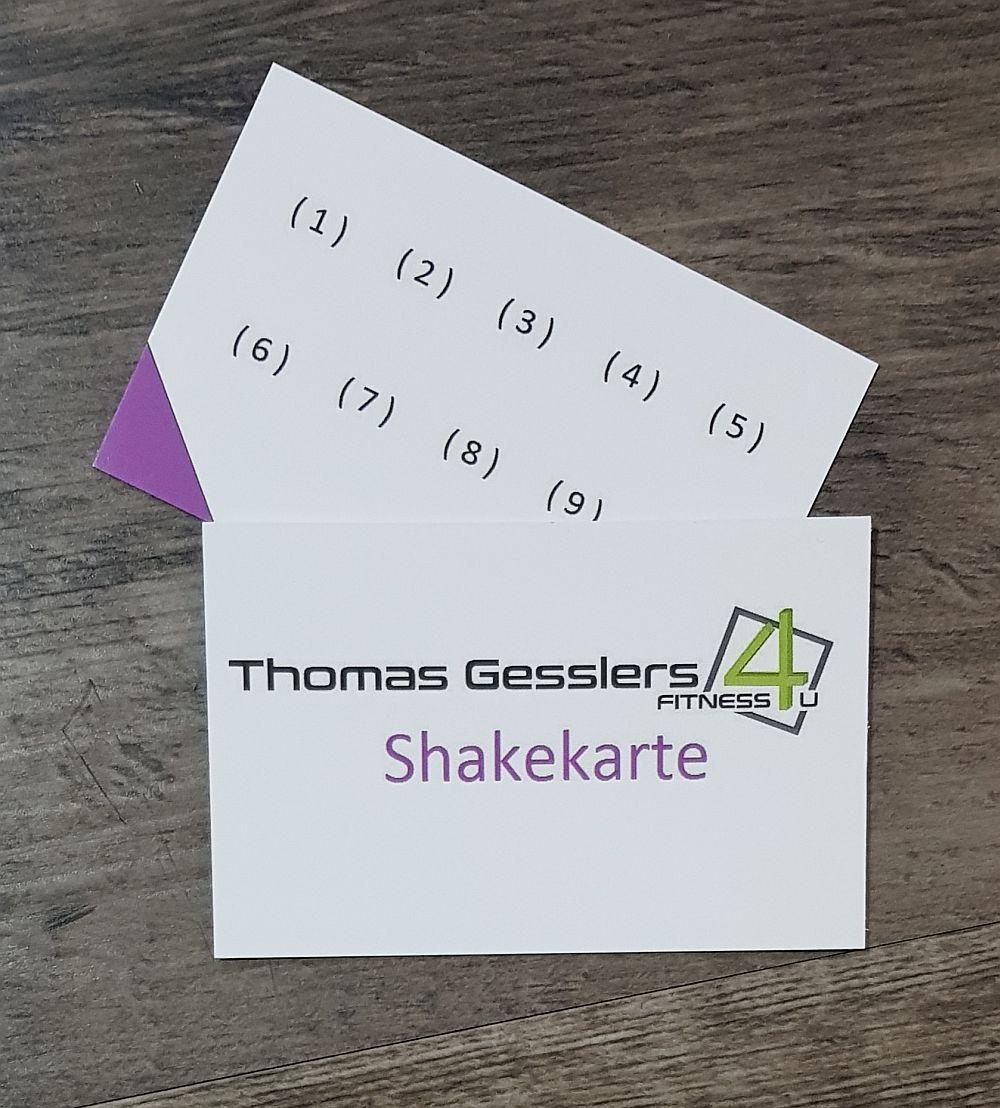 Shakekarte