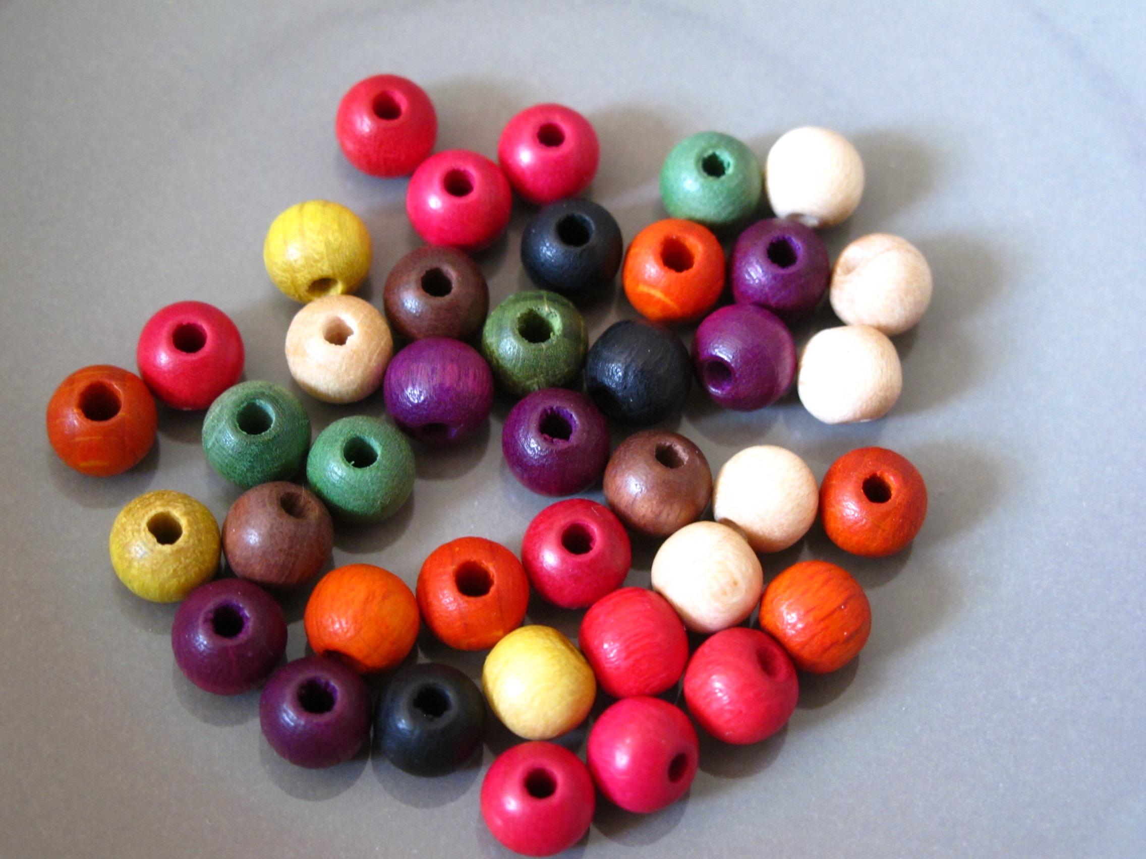 Wooden  Beads Mix
