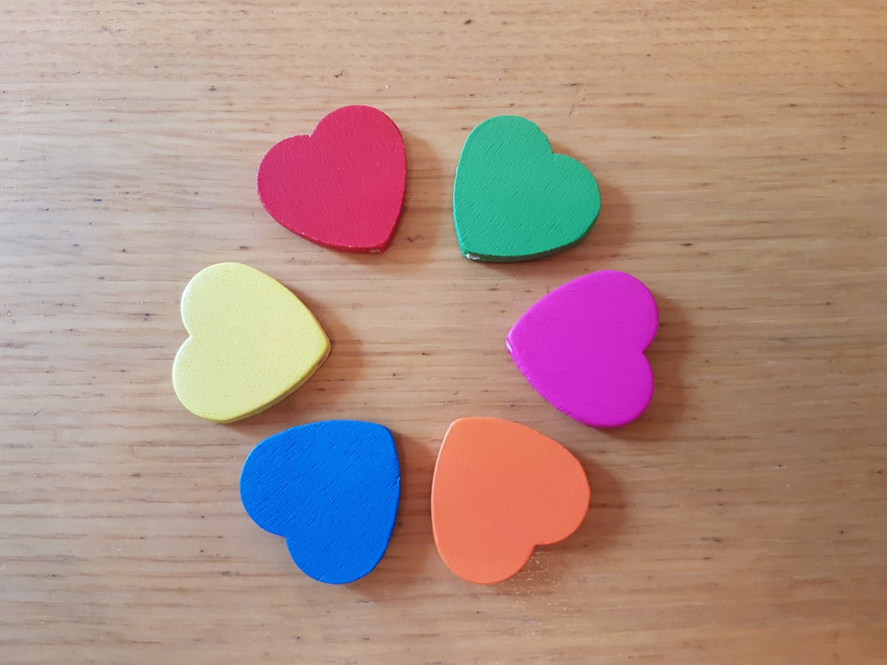 Wooden Shaped Large Heart
