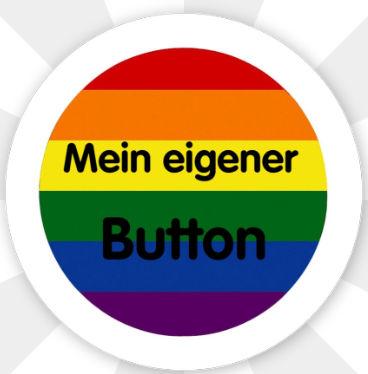 """Button """" Mein eigener Button Flagge"""" Magnetisch"""
