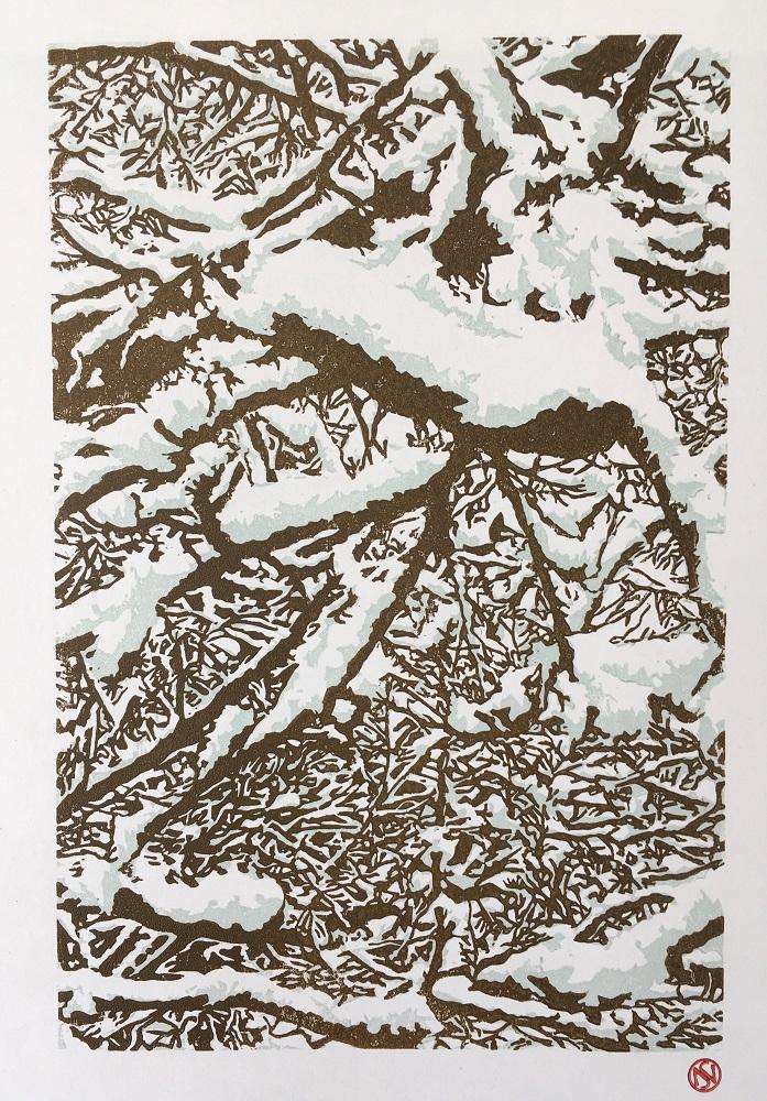 Snowy Shinrin-Yoku