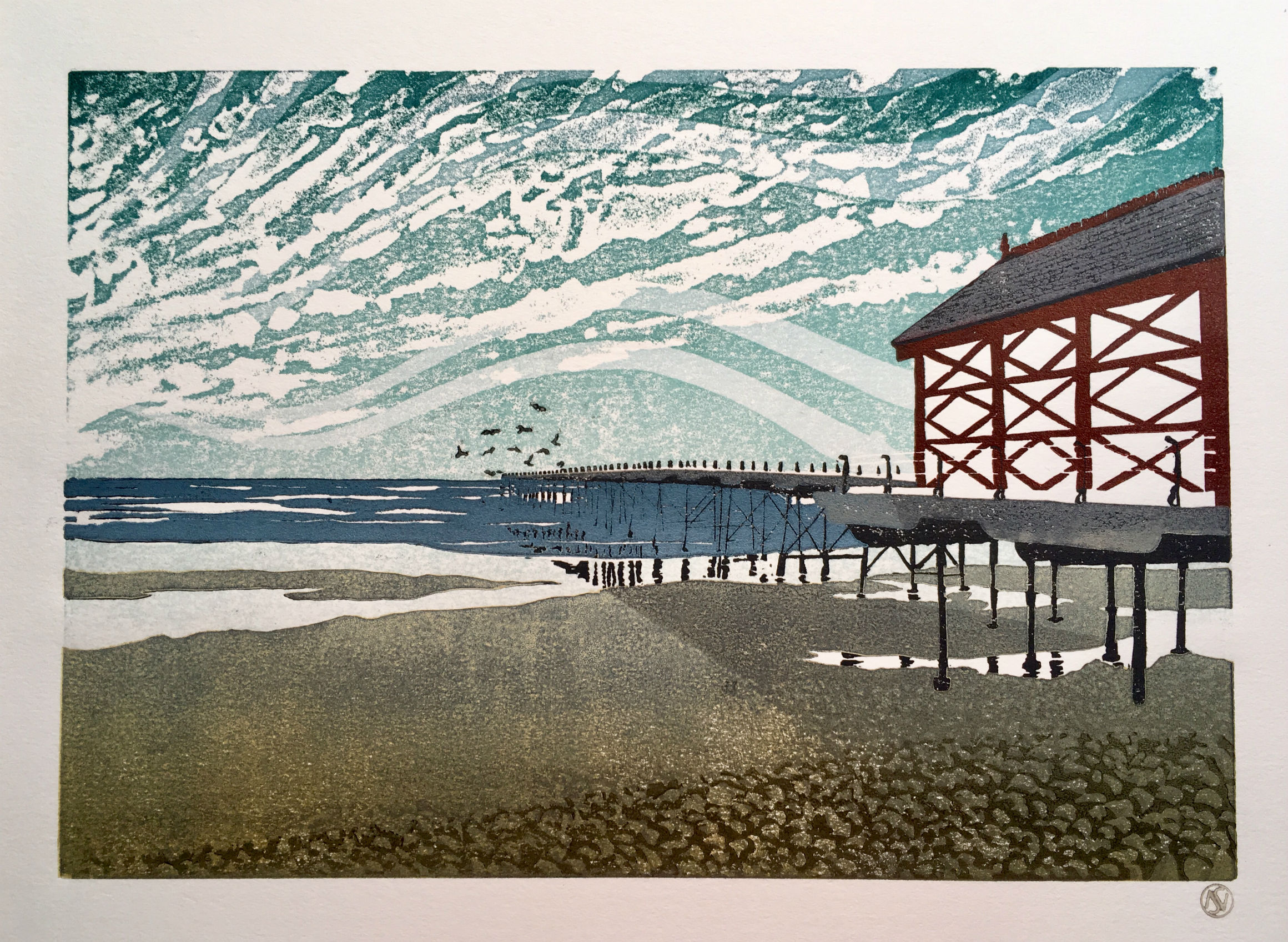 Pier and Shore