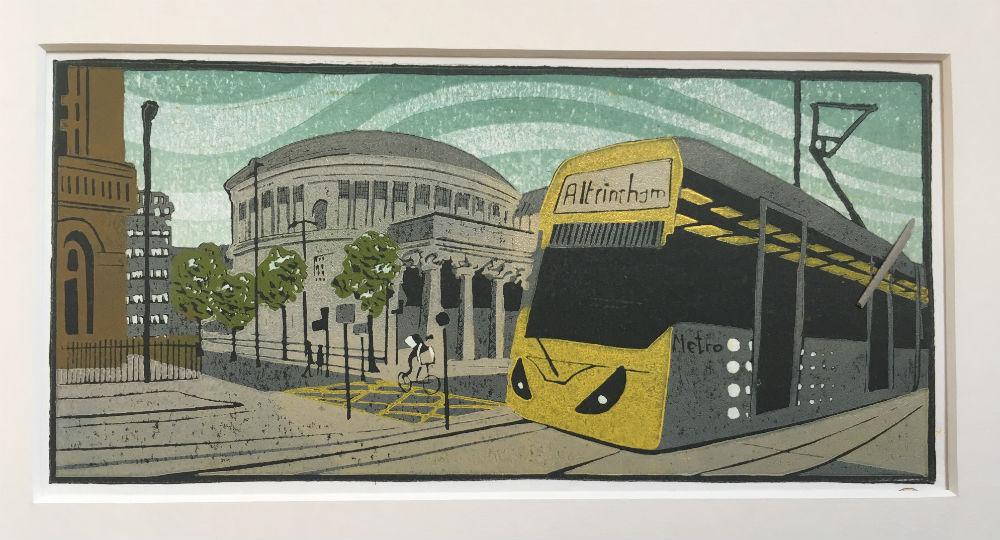 Tram to Altrincham