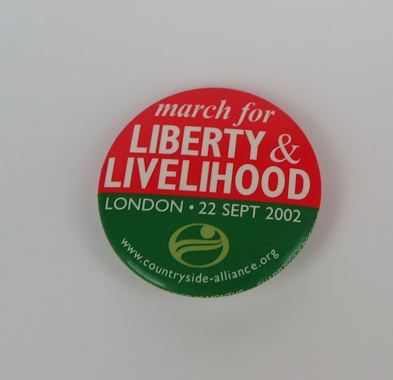 Liberty & Livelihood Badge