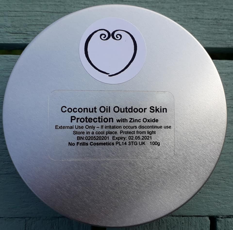 Coconut Oil Outdoor Skin Protection