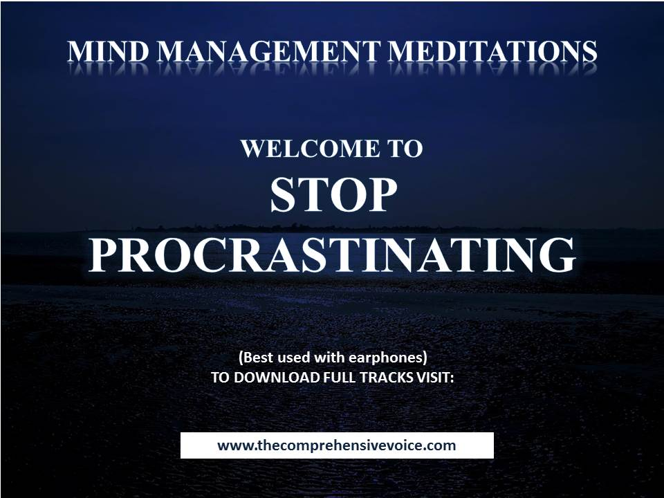 Guided Meditation to Stop Procrastination