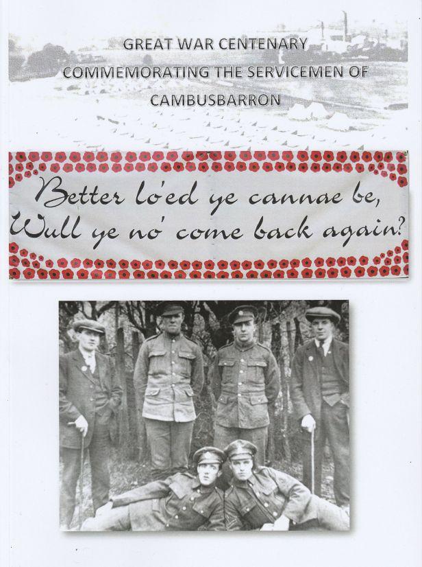 Great War Centenary Book