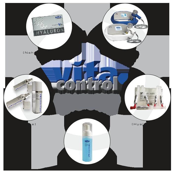 VITA CONTROL Anti-Aging System Kaltlaser Gesichts-, Hals- oder Dekollettebehandlung, 90 Min.
