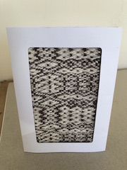 Small Handwoven Card