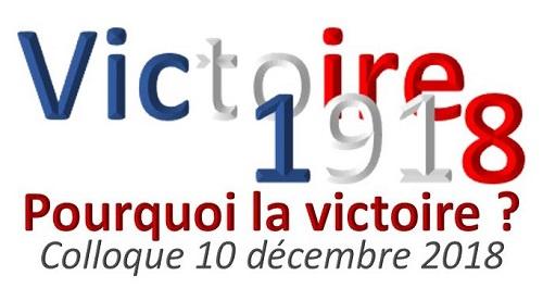 1918 : Pourquoi la Victoire ? Entrée colloque AVEC repas