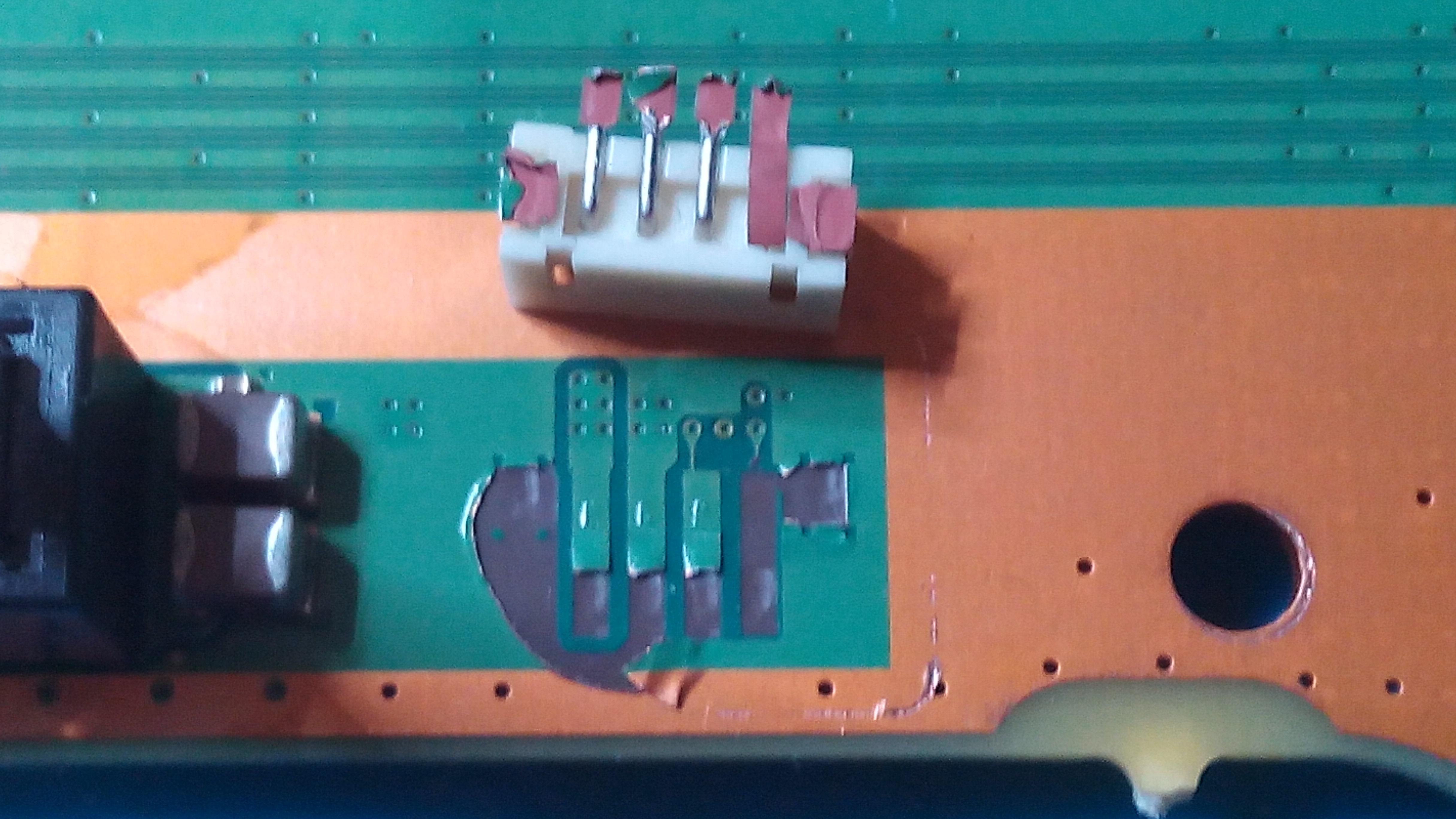 PS4 Pro Mainboard Strom Anschluss Reparatur mit Fehlender 4 Pin Buchse / Kabel 65,00€