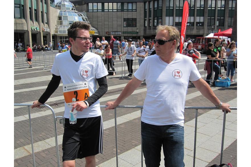Frank Melchers und Jan Eichhorn