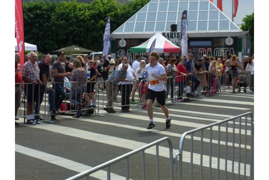 Marius Melchers beim Remscheider Citylauf 2016