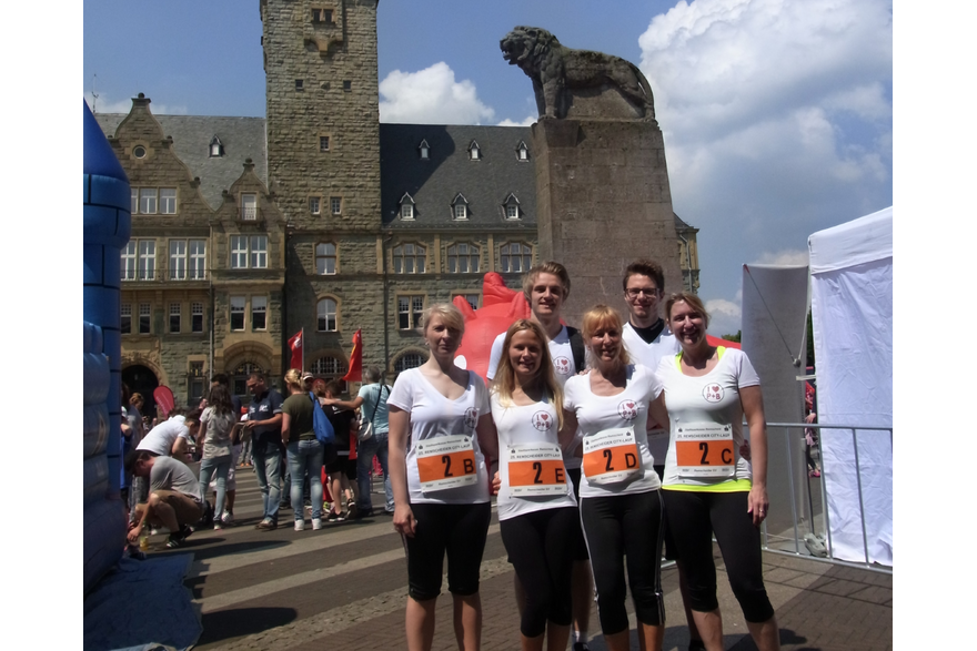 Unser P+B Team beim Remscheider Citylauf 2016