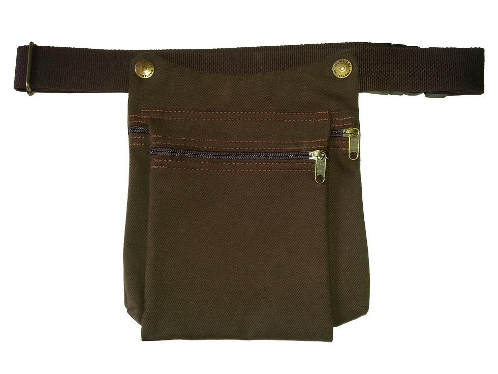 Cartuchera marrón
