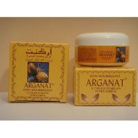 Crema del aceite de argan