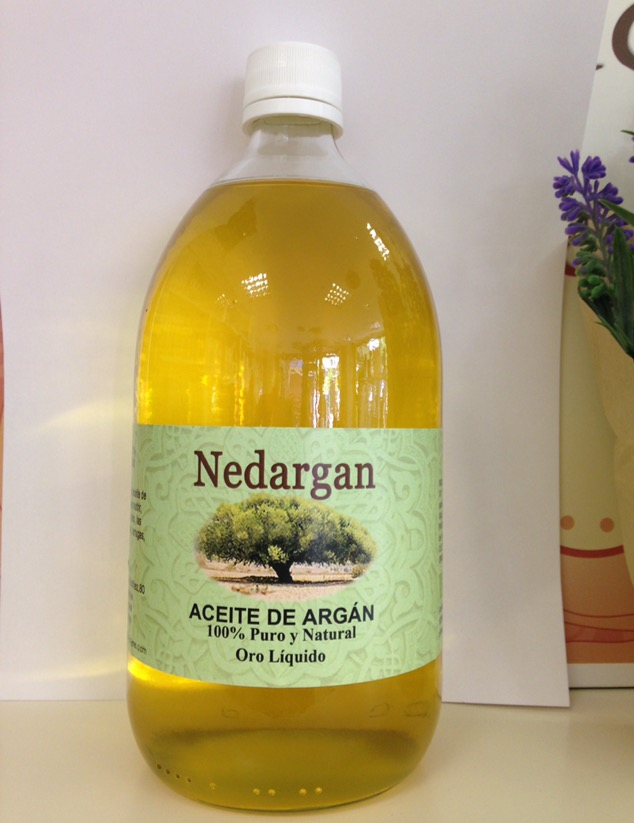 Aceite de Argán de 1 litro