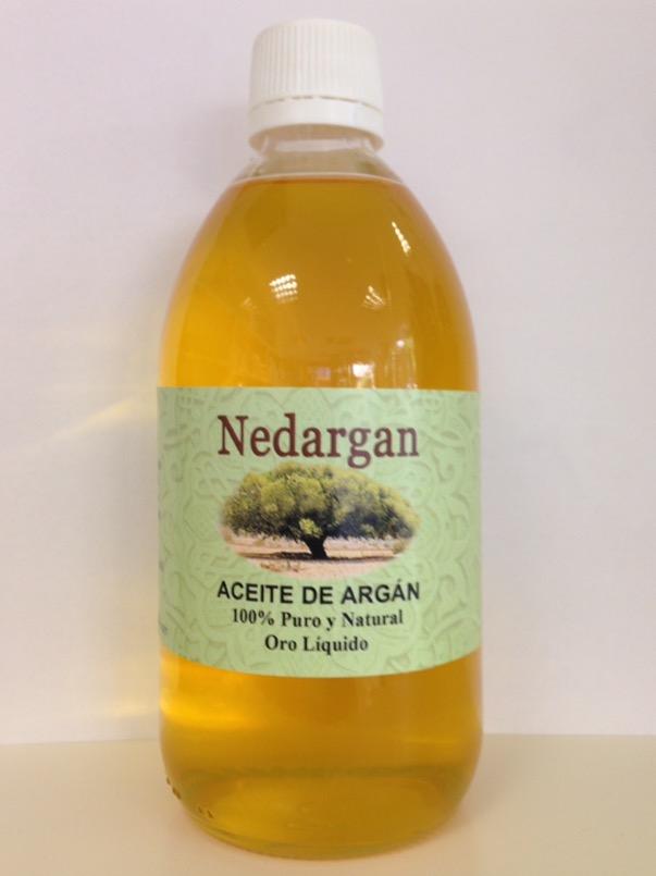 Aceite de argan de 500ml