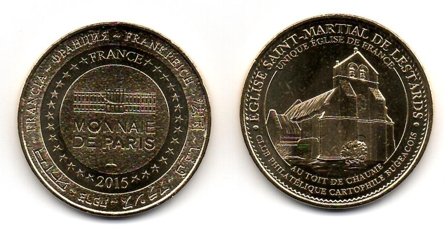 Médaille Lestards, livraison comprise