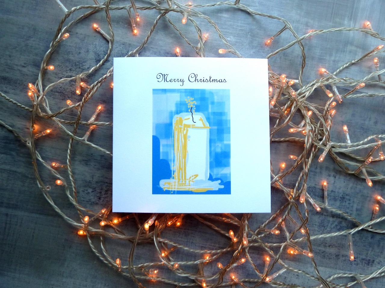 Christmas Card | Christmas Candle