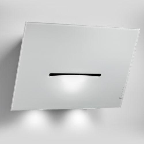 BEST Smooth Wandhaube, Schwarz, Glas, 80 cm
