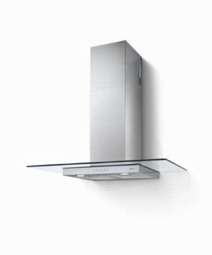 BEST Tau 900 Wandhaube, Edelstahl + Glas, 90 cm