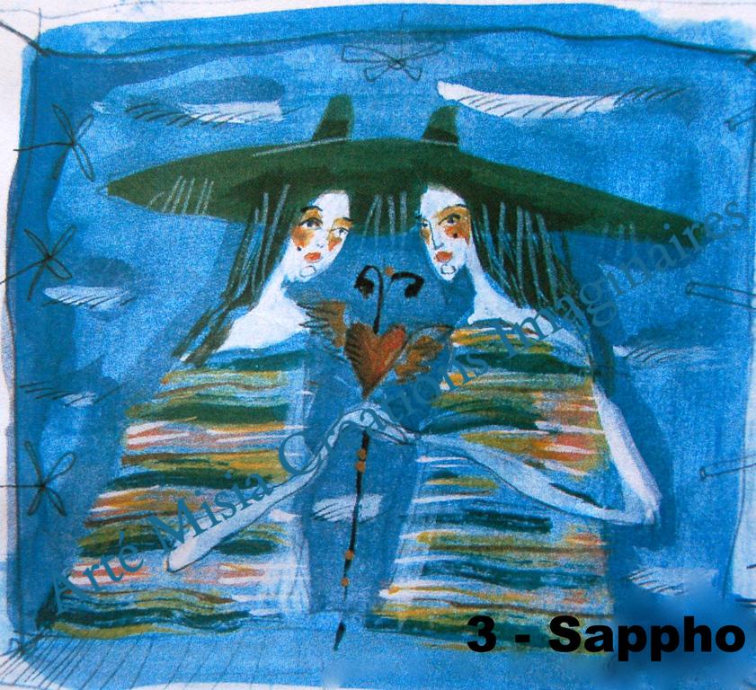 3 - SAPPHO 20*20*  ---- Prix HT ----