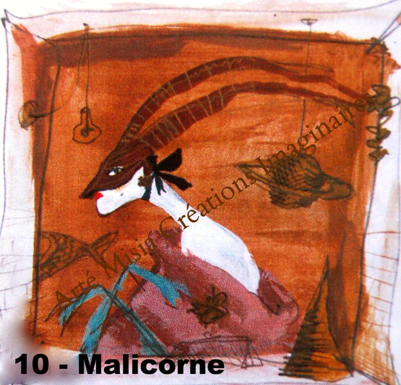 10 - MALICORNE 20*20*  ---- Prix HT ----