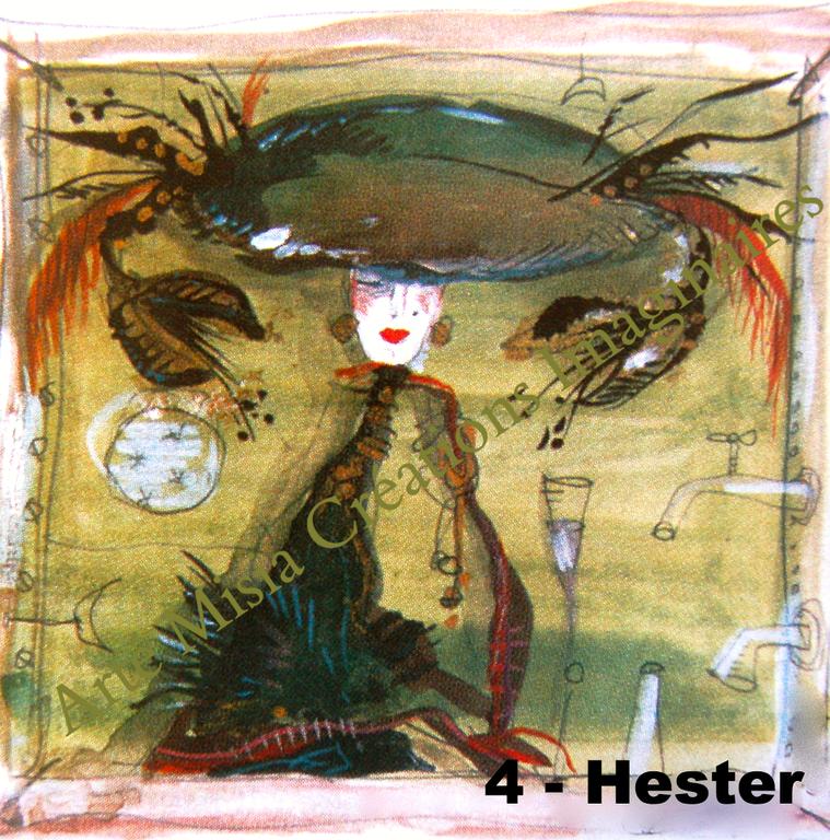 4 - HESTER 20*20*  ---- Prix HT ----