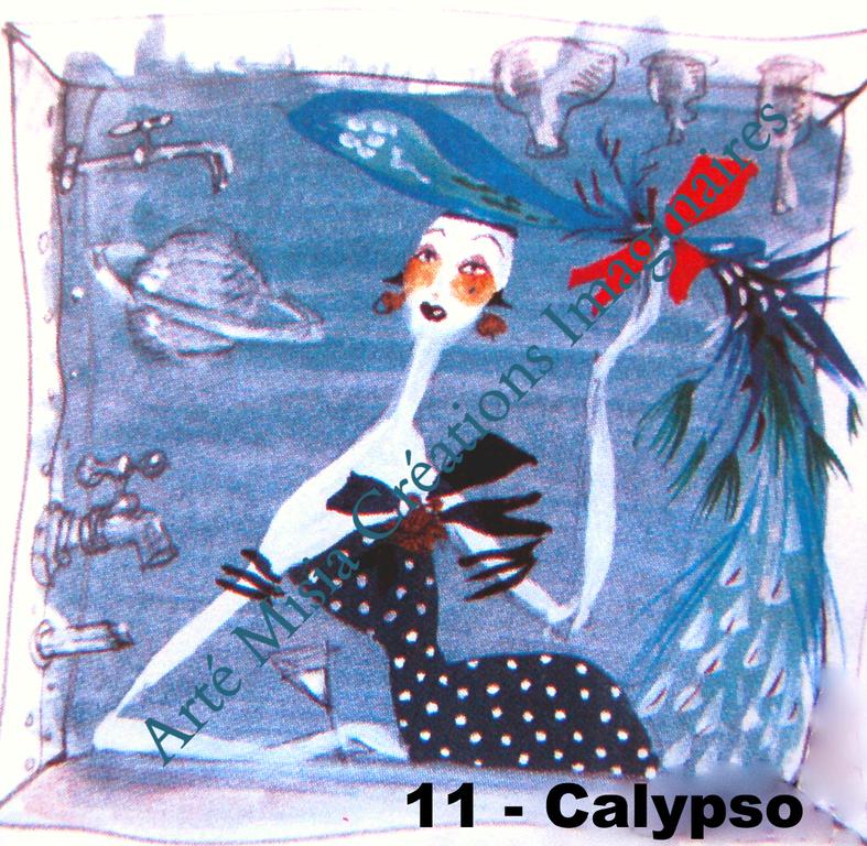 11 - CALYPSO 20*20*  ---- Prix HT ----