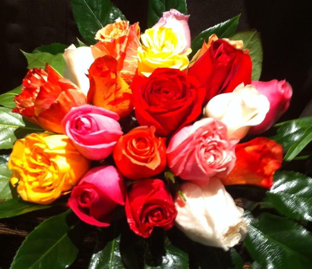 Le bouquet Roses Equateur