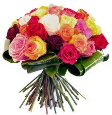 Bouquet roses varié