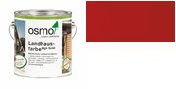 OSMO COLOR Landhausfarbe High Solid in Nordisch Rot 2308