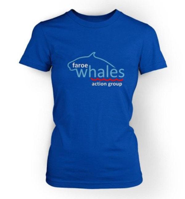 FWAG Logo Tee - Marine Blue
