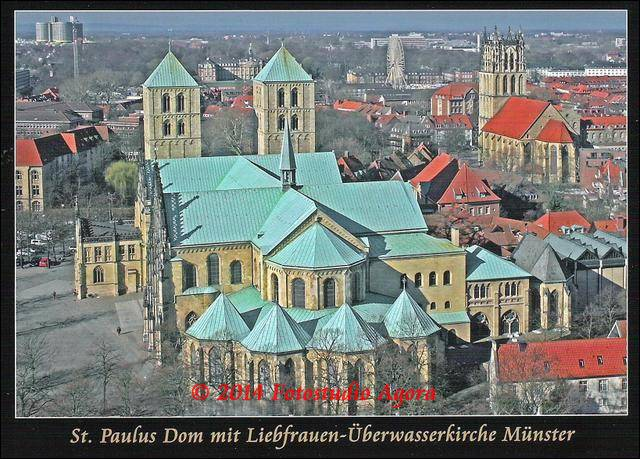 Dom und Überwasserkirche