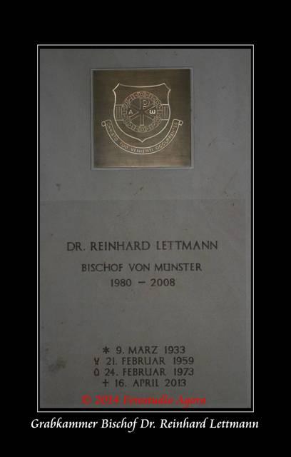 Grabkammer Bischof Lettmann