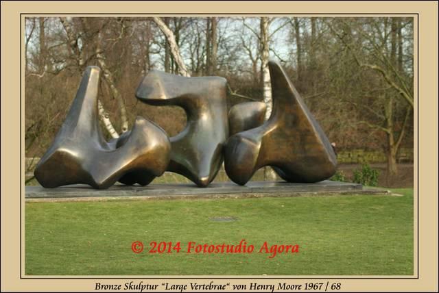 Henry Moore: Vertebrae - Wirbel