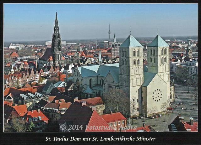 Dom und Lambertikirche