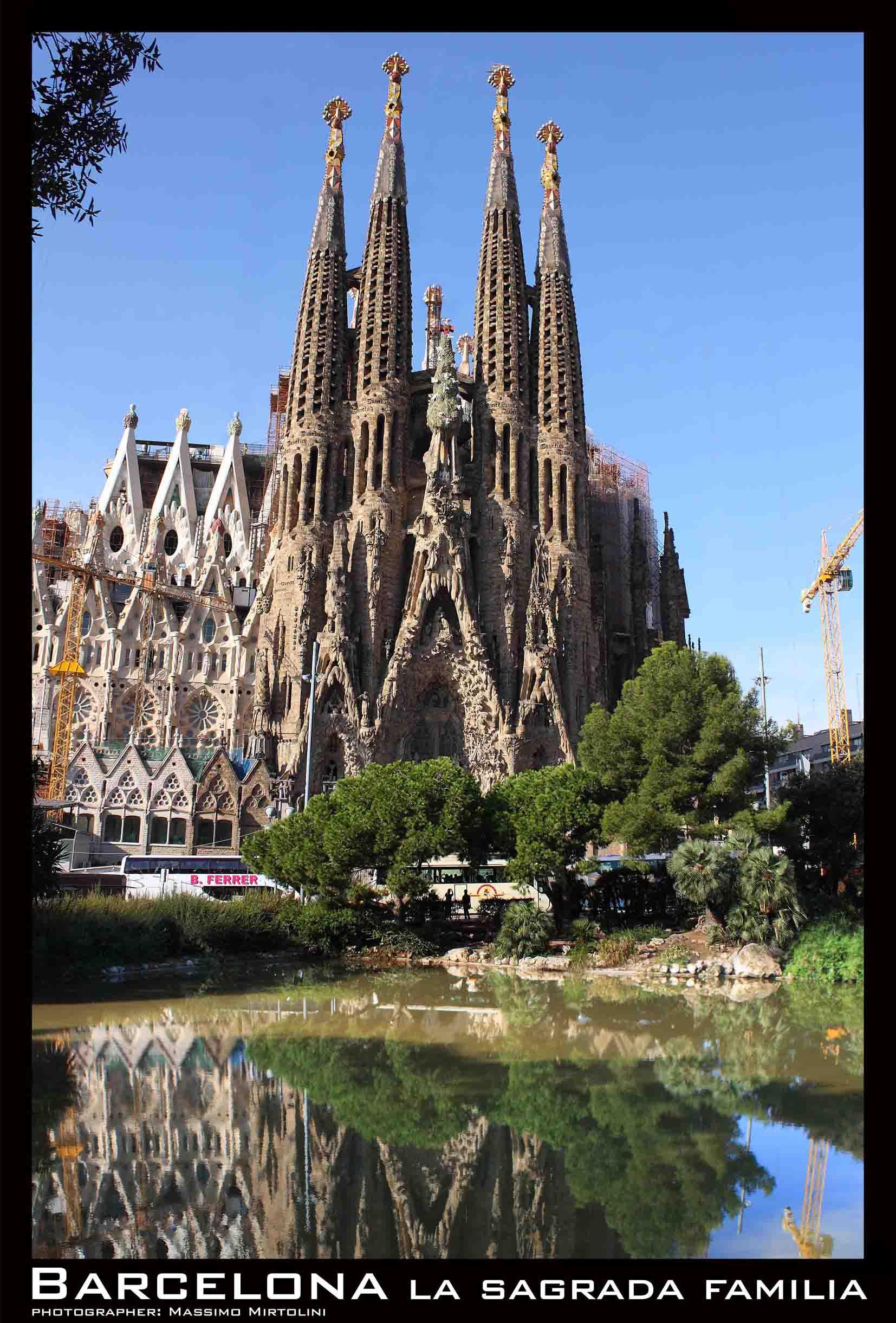 POSTER La Sagrada Familia